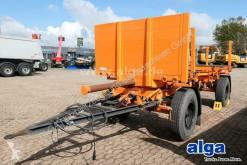 Müller-Mitteltal timber trailer LMU, Anhänger für Langmaterial, Holz, ausziehbar