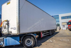 Fruehauf CAISSE FOURGON + HAYON DHOLLANDIA trailer used box