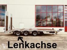Möslein heavy equipment transport trailer 31 t GG Tridem- Tieflader 3 Achs, gelenktNeufah