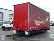 Reboque caixa aberta com lona Scheuwimmer FS 1203*BPW-Achse*Portaltüren*
