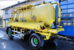 Kolkenzuiger trailer Kutschke 10m³ Saug u.Druck als Kipper ADR V2A