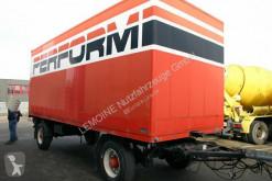 Kässbohrer költöztetés furgon pótkocsi 2-Achs Möbelkoffer LBW Zentralschmierung
