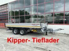 Möslein tipper trailer 13 t Tandemkipper- Tieflader-- Neuwertig --