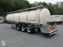 Semirremolque Feldbinder TSA 33.3 Drucktank- Heizung- Pumpe- 33.000 Liter cisterna alimentario usado
