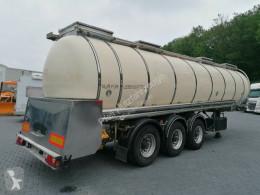 Feldbinder TSA 33.3 Drucktank- Heizung- Pumpe- 33.000 Liter semi-trailer used food tanker