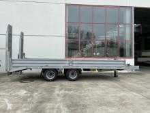 Przyczepa 19 t Tandemtieflader-- Neuwertig -- do transportu sprzętów ciężkich używana