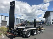 Remorque Hüffermann HTA 18.64 L Hakenlift/Abrollkipper -7m Container