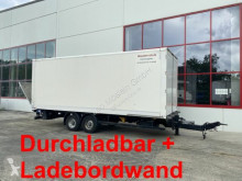 Möslein furgon pótkocsi Tandem Koffer mit Ladebordwand + Durchladbar