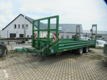 Przyczepa Obermaier Tieflader mit Auffahrrampen do transportu sprzętów ciężkich używana
