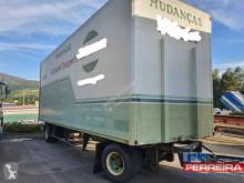 Anhænger kassevogn tøjtransport Trouillet