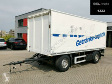 Ackermann Beverages box trailer PA-F 18/6,6E Anhänger / Ladebordwand / Böse