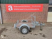 Trilplaat aanhanger trailer used heavy equipment transport