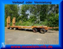 Müller-Mitteltal 4 Achs Tieflader- Anhänger trailer used heavy equipment transport