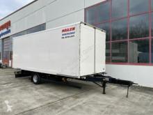 Möslein box trailer 1 Achs Kofferanhänger zum Durchladen-- Wenig Be