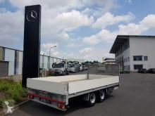 Wörmann LTH 105.52/247BS Pritsche 5,2m NL 7.770kg Rampen trailer used heavy equipment transport