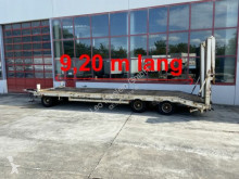 Rimorchio trasporto macchinari Müller-Mitteltal 3 Achs Tieflader 9,20 m Ladefläche