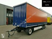 Krone tautliner trailer AD / Aluklappen / EDSCHA / 3 Achsen