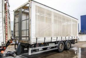 Lecitrailer REMORQUE BACHE+DHOLLANDIA trailer used tarp