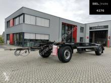 Remorque châssis Krone Burg Silvergreen DC02 / Lafette / 40 mm