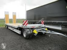 Remorque porte engins Fliegl DTSC 300 Anhängertieflader,Federrampen
