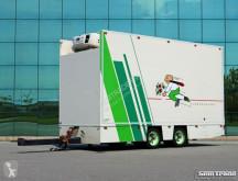 Draco refrigerated trailer MZS 218 VAN BEURDEN BLOEMEN VERKOOP WIPKAR CARRIER KOELING KACHE