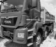 曼恩TGS卡车 MAN TGS 35.470– 8 x 6 双侧翻加后翻式自卸车 二手