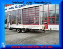 Pótkocsi Müller-Mitteltal Tandemtieflader használt gépszállító