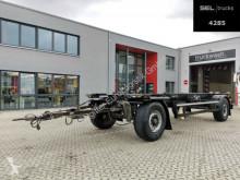 Remolque Krone Burg Silvergreen DC02 / BPW / 40 mm chasis usado