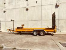 Rimorchio Tandemtieflader trasporto macchinari usato