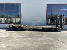Möslein 4 Achs Tiefladeranhänger trailer used flatbed