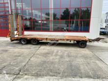 Goldhofer flatbed trailer 3 Achs Tiefladeranhänger 8,70 m lang