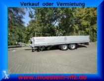 Möslein Tandem- Pritschenanhänger trailer used dropside flatbed