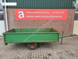 Remolque agrícola caja abierta portamaterial Transportkar