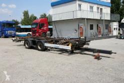 Remorca Schmitz Cargobull ZZ, (BDF), AXLES BPW, TIRES 60% transport containere second-hand