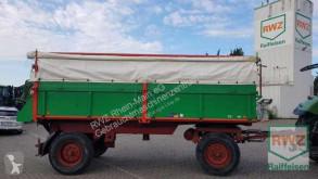 Remolque agrícola Kipper 13000 kg volquete con cortina usado