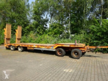 مقطورة Müller-Mitteltal 4 Achs Tieflader- Anhänger mit ABS حاملة آليات مستعمل