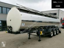 Semitrailer Berger SAPL 24 / 3 Kammern / Alu-Felgen / ATP tank livsmedel begagnad