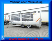 Remorque Möslein 14,4 t Tandemtieflader mit breiten RampenNeufah benne occasion