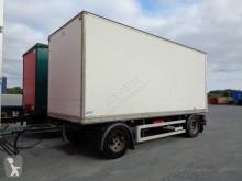 Lecitrailer plywood box trailer fourgon Polyfond 2 essieux