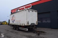 Anhænger containervogn Lecitrailer PORTE CAISSON AVEC CAISSE BACHEE
