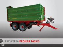 Pronar Tandemkipper T663/3 benne à ridelles occasion