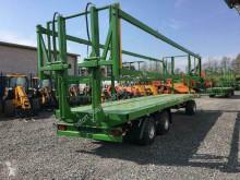 Remolque agrícola Pronar Ballentransportwagen T026M mit hydr. Ladungssicher Plataforma forrajera usado
