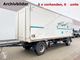 Orten PRASQ 18 Getränkeanhänger PRASQ 18 Getränkeanhänger, Stapleraufnahme, 6 x Vorhanden! trailer used box