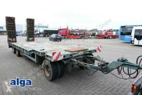 Goldhofer heavy equipment transport trailer TU 3-24/80, Verbreiterbar, Hydr. Rampen, 30to.