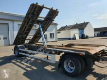 Remorca transport containere DAPA Roll-off Trailer Tipper 7 meters 2008 year