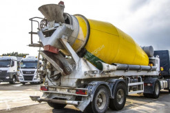 Semi reboque betão betoneira / Misturador DE BUF MIXER 12M3+ HULPMOTOR / MOTEUR AUX.