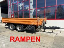 Remolque 14 t Tandemkipper-Tieflader volquete usado