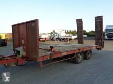 Louault heavy equipment transport trailer porte-engin 2 essieux