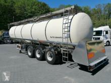 Semirimorchio Feldbinder TSA 33.3 Drucktank- Heizung- Pumpe- 33.000 Liter cisterna trasporto alimenti usato