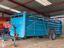 Remolque agrícola Masson Remorques bs 68 remolque ganadero usado
